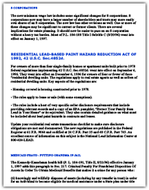 Residential Lead-Based Paint Hazard Reduction Act of 1992, 42 U.S.C. Sec. 4852d